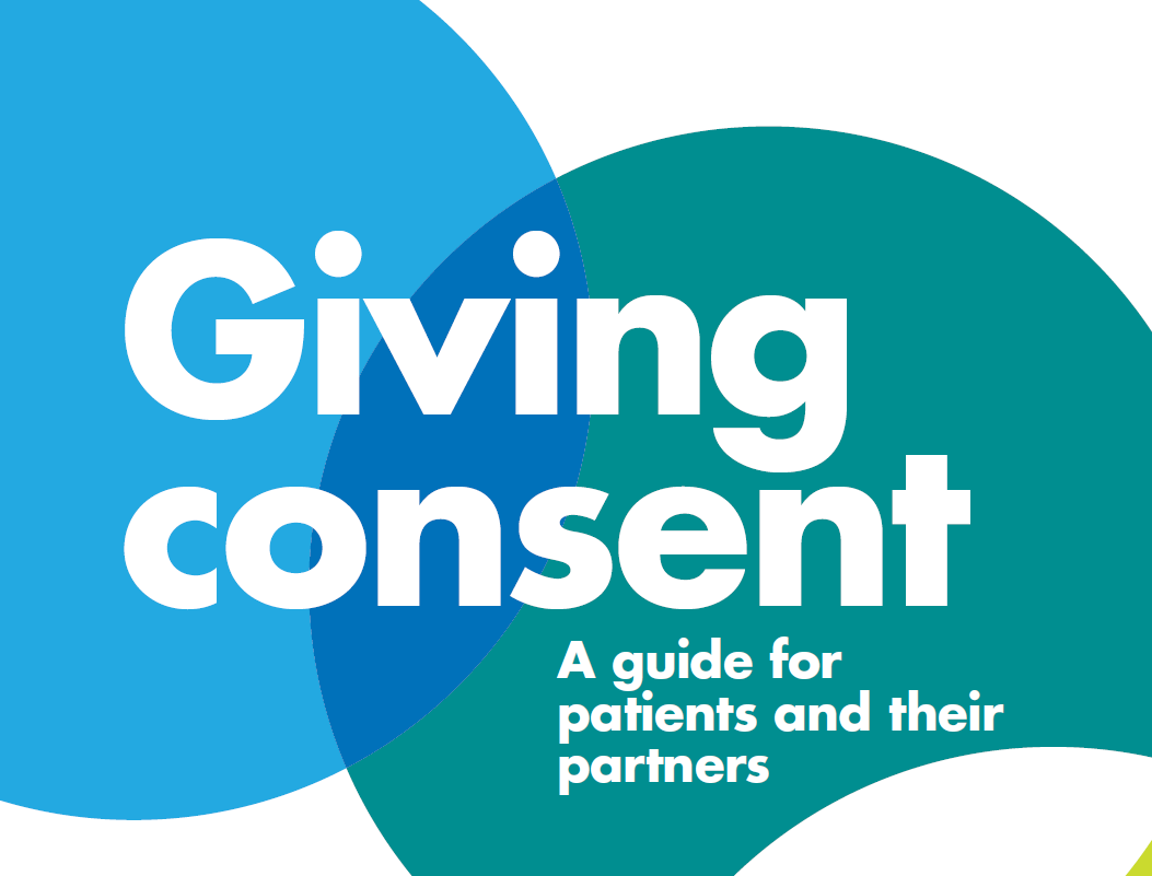 Giving consent front cover