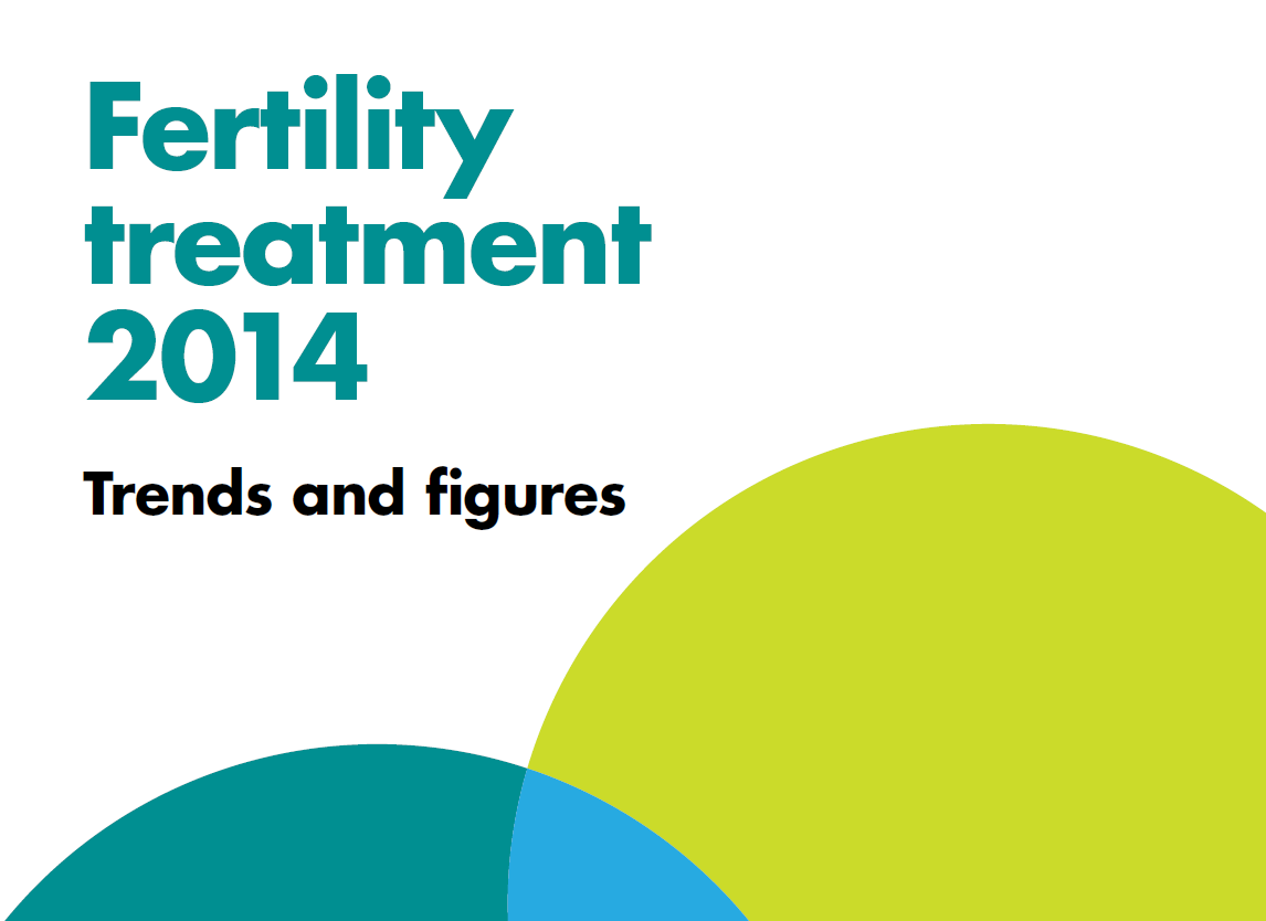 Fertility treatment 2014: Trends and figures report front cover